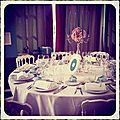 Saison 2012 : mariage aux couleurs de tiffany