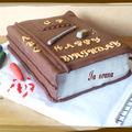 Gâteau livre
