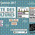 21ème fete des cultures samedi 28 et dimanche 29 janvier