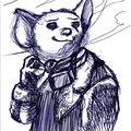 Rough stylo bille - Pas encore une souris...