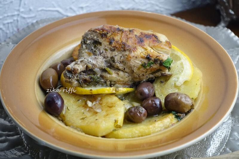 tajine poulet marocaine olives1