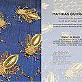 Mathias ouvrard // exposition de broderie - galerie artem - quimper
