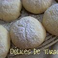 Petits biscuits sablés turcs - un kurabiyesi