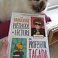 La fabuleuse méthode de lecture du professeur tagada - christophe nicolas et guillaume long