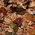 Granola maison aux fruits secs