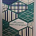Carte de condoléances en mosaïque