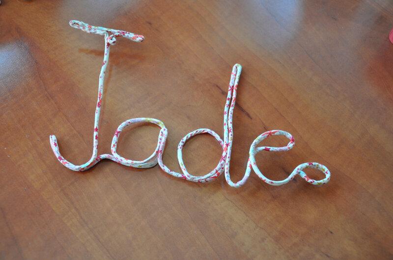 fil de fer Jade