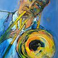 le trombone in the mood