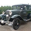 Ford model a tudor sedan 1929