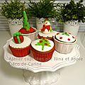 Cupcakes de noël a l'atelier des gourmandises