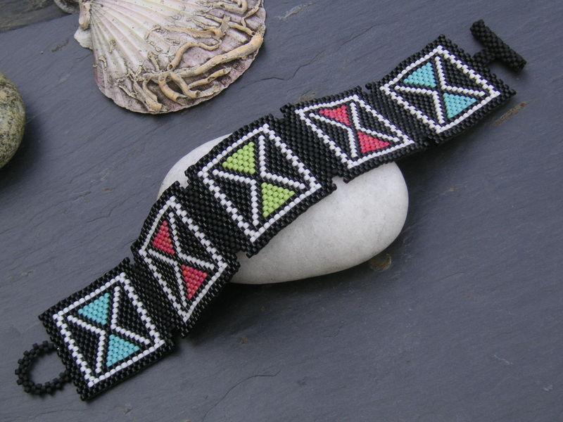 Bracelet African Mudcloth