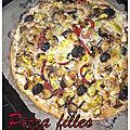 Pizza'mour dans le pré