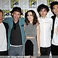 City of Bones Cast at Comic Con 2013 02