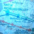 Les Sablons : vieux plan du métro