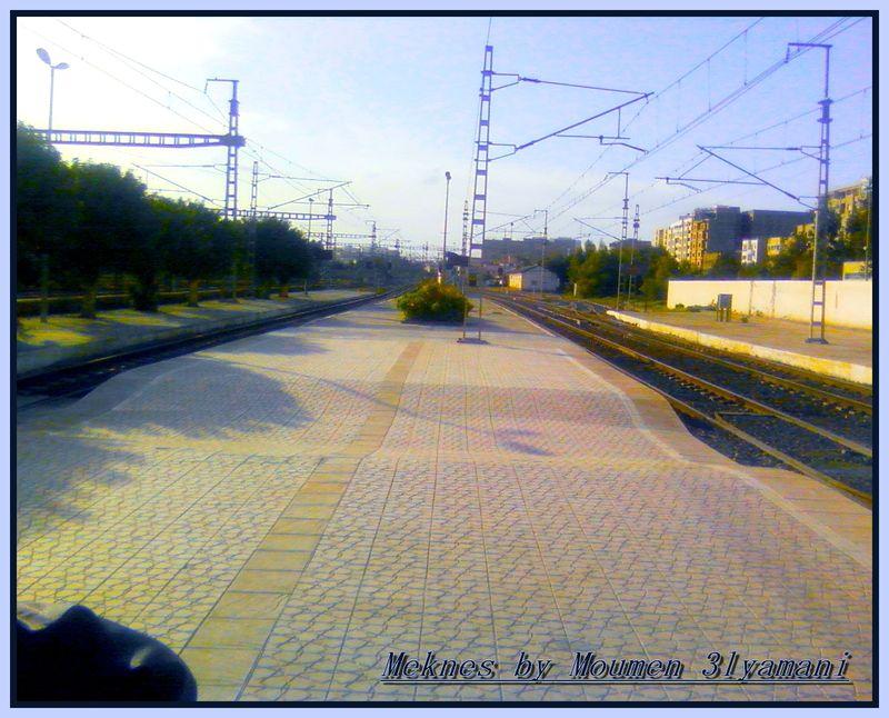 Quai Gare Meknes Ville 1