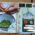 Carnet Légumes du jardin Katédine