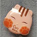 Cats wink : la poudre ultra cute et efficace signée tony moly !