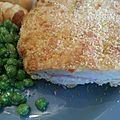 Cordon bleu au thermomix...ou pas (cuisson au four)