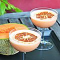 Cocktail daïquiri au melon