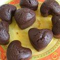 Financiers au chocolat (recette de jp hévin)