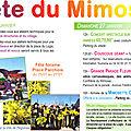 2013-Fête du Mimosa de Pégomas. le 26/27 janvier 2013