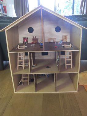 la maison playmobil louisette violon. Black Bedroom Furniture Sets. Home Design Ideas