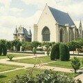 La chapelle et les jardins intérieurs