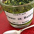 Confit de basilic by madame