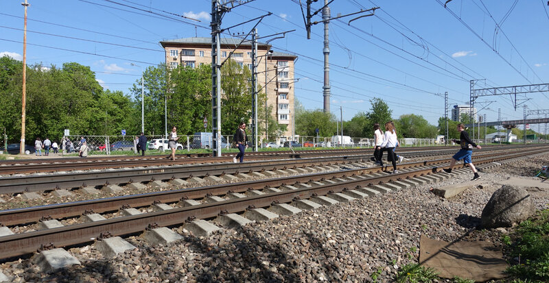 Passage à niveau Moscou 3