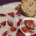 Crème du barry et chorizo (au thermomix)