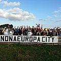 Les élus de gauche du blanc-mesnil présents au rassemblement du 27 juin 2015, pour dire non a europa city