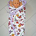 Couverture enveloppante pour bébé!