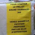 signature des pétitions contre le projet Grand Tourmalet 360