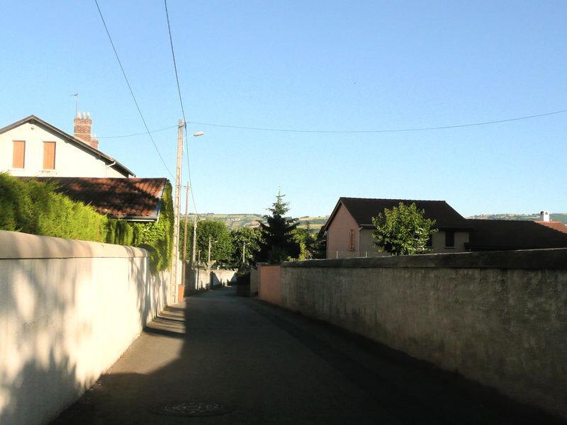 rue Saint-Exupéry, 13 juin 2009