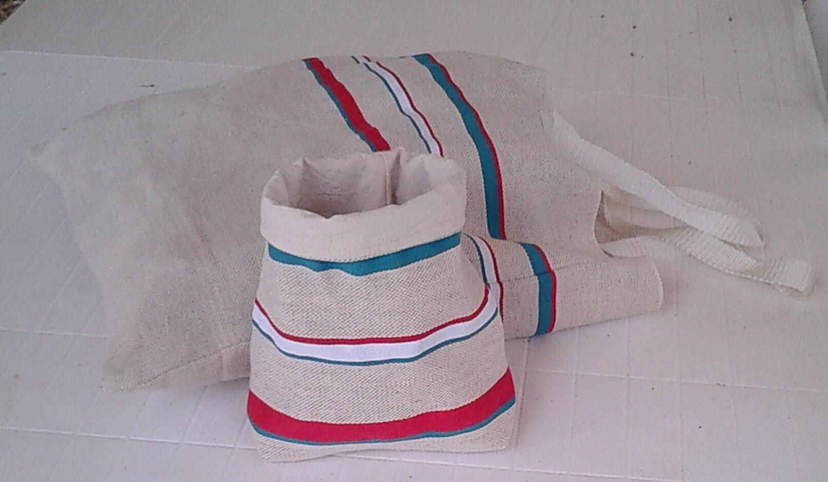 sacs tissu basque