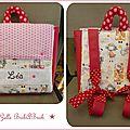 Un sac à dos maternelle + des nouveautés pour la boutique