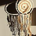 Diy attrape-rêve # 2 : dentelle et tissage circulaire