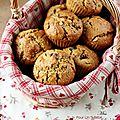 Muffins pour le goûter... deux recettes gourmandes