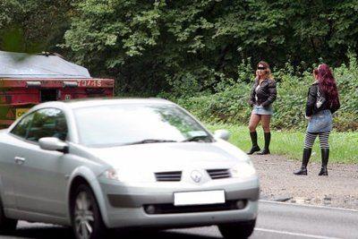 Prostituée route