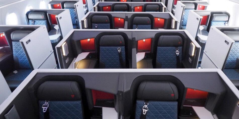Nouvelle cabine A350 Delta Airlines en images et nouveaux services