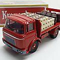 Berliet gak plateau brasseur kronenbourg. dinky toys atlas. #588