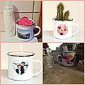 Le mug émaillé pour la fête des mamans (+concours)