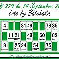 Défi 279 - cartes de kinna, vinou et batchaka