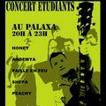 Affiche du concert rock Jam Session Fac
