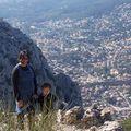 mont faron, vu la ville de toulon