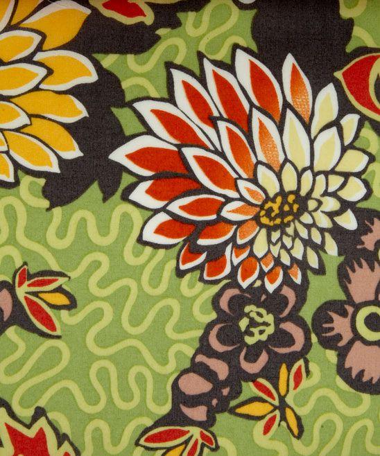 Meandering Chrysanthemums céladon