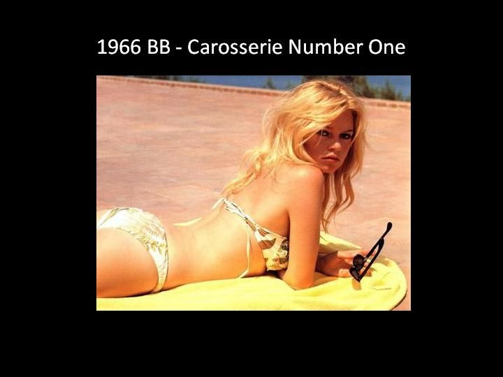 1966 - BB Carosserie number one