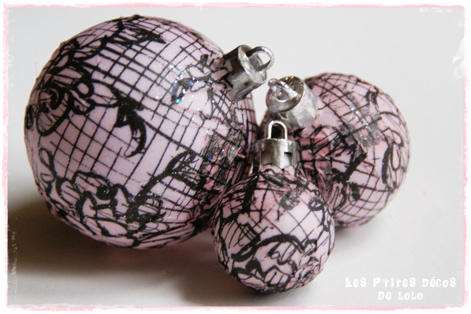 Boules customisées