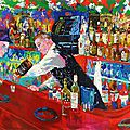Leroy neiman frank at rao painting
