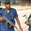 Les forces spéciales camerounaises durant les manifestations de